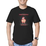 Merry Christmas! Men's Fitted T-Shirt (dark)