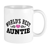 World's Best Auntie Small Mug