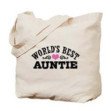 World's Best Auntie Tote Bag