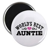 World's Best Auntie Magnet