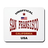 San Fransisco Mousepad