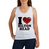 I Heart Hilton Head Women's Tank Top
