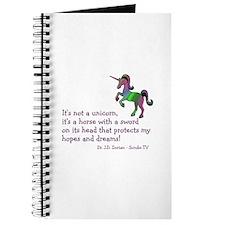 Scrubs Unicorn Quotes Journal