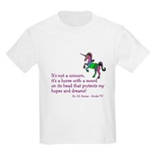 Scrubs Unicorn Quotes T-Shirt