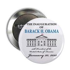 "2013 Obama inauguration day 2.25"" Button (10 pack)"