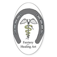 Farriery Healing Art Decal