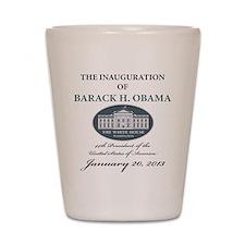 2013 Obama inauguration day Shot Glass