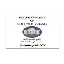 2013 Obama inauguration day Car Magnet 20 x 12