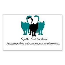 Forgotten Feral Cat Rescue Decal