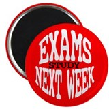 "EXAMS! 2.25"" Magnet (100 pack)"