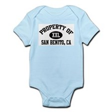 Property of SAN BENITO Infant Creeper