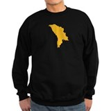 Moldova map Sweater