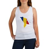 Moldova map flag Women's Tank Top