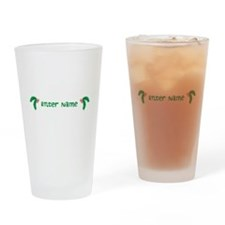 Personalized Holly Drinking Glass