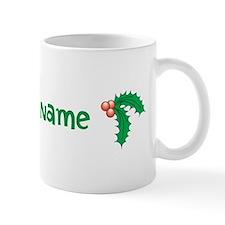 Personalized Holly Mug