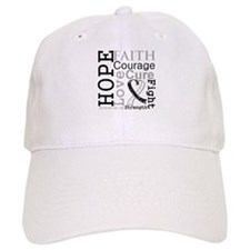 Carcinoid Cancer Hope Courage Baseball Cap