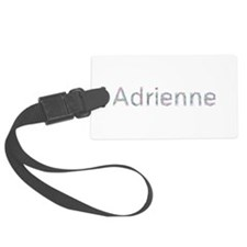 Adrienne Paper Clips Luggage Tag