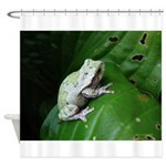 treefrog III Shower Curtain