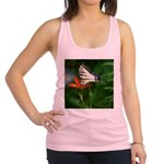 .swallowtail on candy lily. Racerback Tank Top