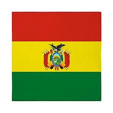 Flag of Bolivia Queen Duvet