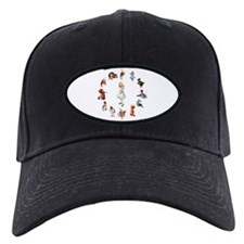 All Around Alice In Wonderland Baseball Hat