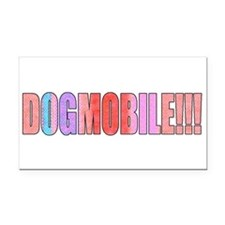 dogmobile Rectangle Car Magnet