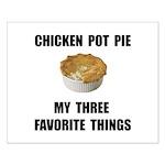 Chicken Pot Pie Small Poster