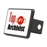 Top Archivist Rectangular Hitch Cover