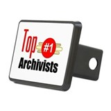 Top Archivists Rectangular Hitch Cover