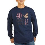 40th Birthday Butterfly T