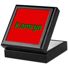 Kamryn Red and Green Keepsake Box