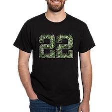 22, Vintage Camo T-Shirt