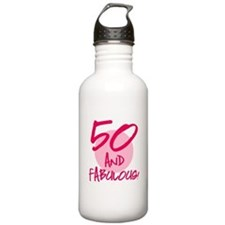 50 And Fabulous Water Bottle