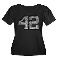 42, Grey, Vintage T