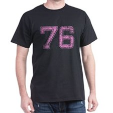 76, Pink T-Shirt