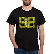 92, Yellow, Vintage T-Shirt