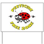 Pesticide Free Zone Yard Sign