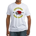 Pesticide Free Zone Fitted T-Shirt