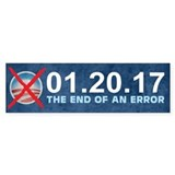 The End of an Error Car Sticker
