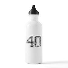 40, Vintage Water Bottle