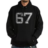 67, Aged, Hoodie