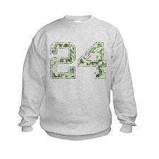 24, Vintage Camo Sweatshirt