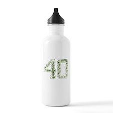 40, Vintage Camo Water Bottle