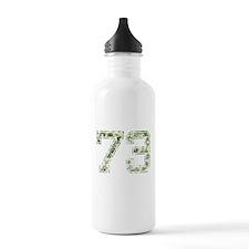 73, Vintage Camo Water Bottle