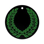 Laurel Medallion (black)