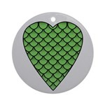 Midrealm Dragon's Heart (silver grey)