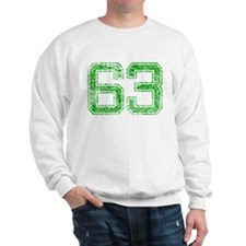 63, Green, Vintage Sweatshirt