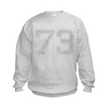 73, Grey, Vintage Sweatshirt