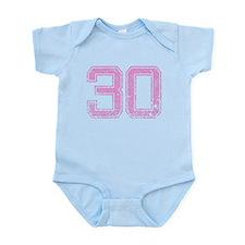 30, Pink Onesie