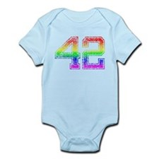 42, Gay Pride, Infant Bodysuit